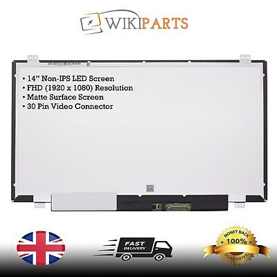 £221.99 • Buy New For HP Model 14-al171no 14  LED LCD Laptop Notebook Screen FHD Display