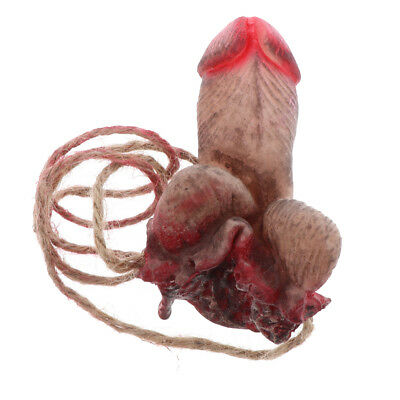 $ CDN4.99 • Buy Funny Halloween Bloody Severed Body Parts Prop Latex Penis Hanging Decoration