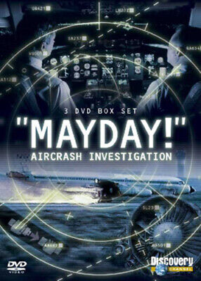 Mayday: Air Crash Investigation DVD (2007) Cert E 8 Discs FREE Shipping, Save £s • 19.59£