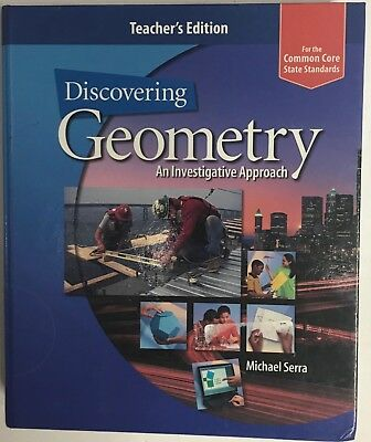 $69.99 • Buy Discovering Geometry An Investigative Approach Common Core Teacher Edition 2013
