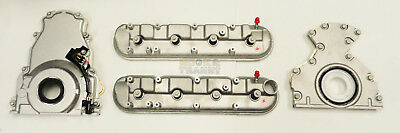 $ CDN499.92 • Buy LS1 LS2 LS6 LS3 LQ4 Front Timing Rear Engine Plate Valve Covers W/ Gaskets