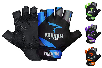 GG-2 Gym Gloves Workout Training Exercise Body Building Grips Finger Tabs • 5.99£