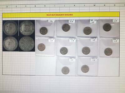 £1.60 • Buy King George V Sixpence 1911 To 1936 Supplied In Coin Wallet READ DESCRIPTION