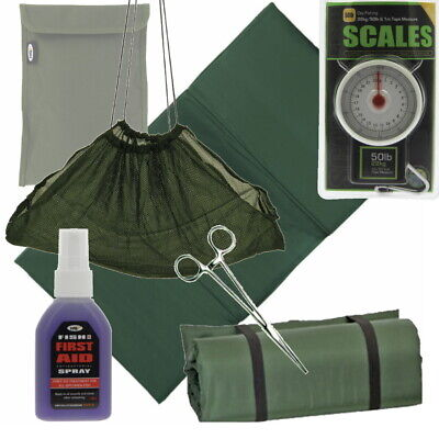 £21.95 • Buy NGT Unhooking Mat Or Weigh Sling Scales Antiseptic Spray Forceps Carp Fishing