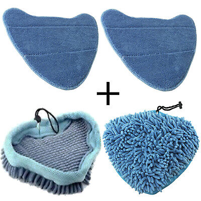 Cover Pads For VAX Steam Cleaner Mop S7 S7-A S7-A+ Total Home Duet Bionaire X 4 • 13.59£