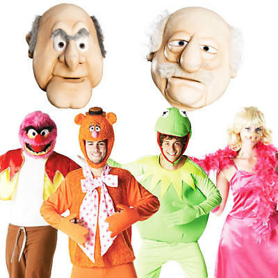 1970s Muppets Adults Fancy Dress TV Character 70s Mens Ladies Costumes Outfits • 33.99£