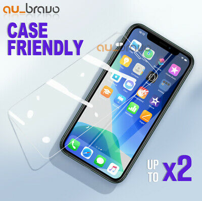 AU3.99 • Buy 2x For Apple IPhone 13 12 Mini 11 Pro XS Max XR Tempered Glass Screen Protector