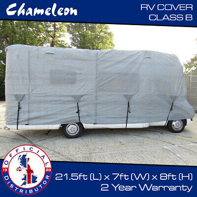 Premium Motorhome Cover CLASS B RV | Up To 6 - 6.5m | 6x Zips, 4 Air Vents • 109£