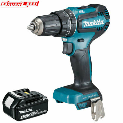 Makita DHP485Z 18V LXT Li-ion Brushless Combi Drill With 1 X 3Ah BL1830 Battery • 135£