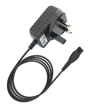 £9.58 • Buy UK Plug Shaver Charger Power Lead Cord For Philips RQ1180 RQ1250 HQ7415 Shavers