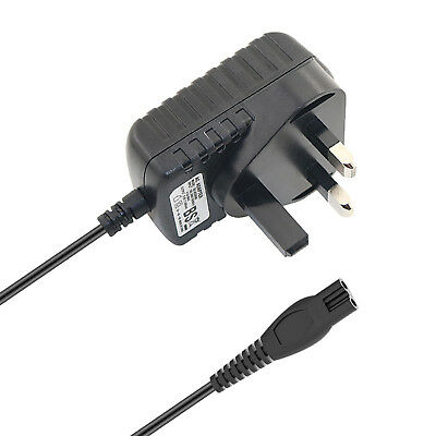 £9.14 • Buy UK Plug Power Lead Charger Cable Cord For Philips RQ1180 RQ1250 RQ1260 Shavers