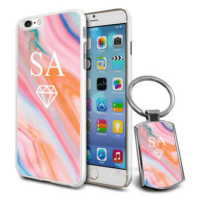 Personalised Strong Case Cover & Personalised Keyring For Mobiles - Q06 • 6.79£