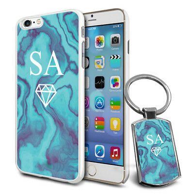 Personalised Strong Case Cover & Personalised Keyring For Mobiles - Q05 • 6.79£