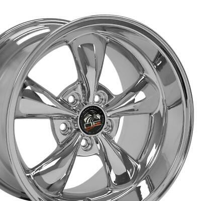 $193 • Buy OEW Fits 17  Wheel Ford Mustang Bullitt FP01 Chrome17x10.5 REAR