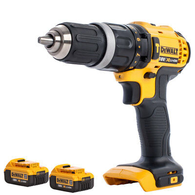 Dewalt DCD785N 18V XR Li-ion 2-Speed Combi Drill With 2 X 4.0Ah DCB182 Batteries • 175£
