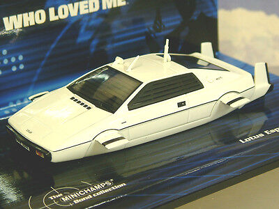 $ CDN51.39 • Buy Minichamps 1/43 James Bond 007 Lotus Esprit S1 Sous-Marin The Spy Qui Loved Me