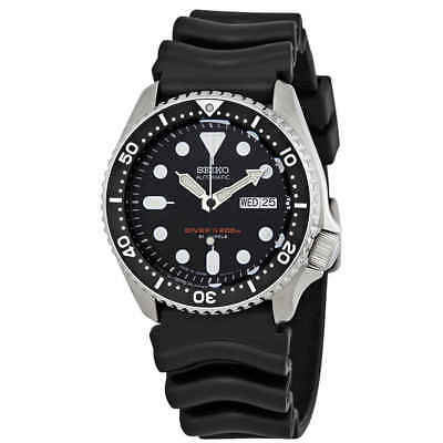 $ CDN458.71 • Buy Seiko Automatic Black Dial Black Rubber Men's Watch SKX007J1