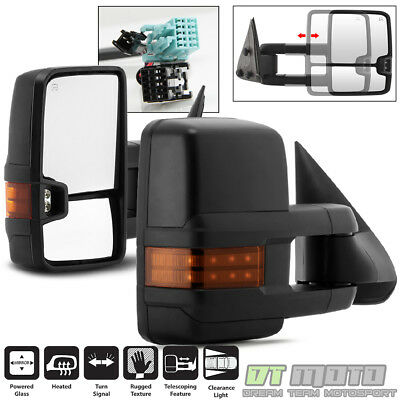 $132.99 • Buy PAIR 2003-2006 Chevy Silverado GMC Sierra Power Heated W/LED Signal Tow Mirrors
