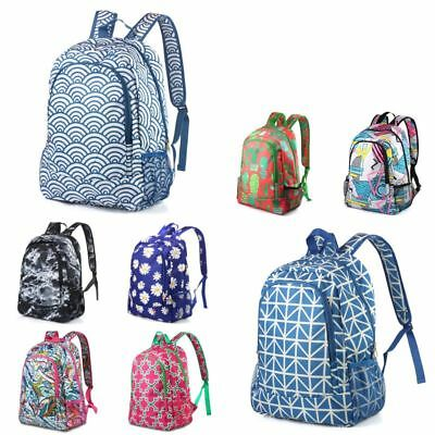 $15.19 • Buy Women Girls Shoulder School Bag Laptop Backpack Travel Outdoor Satchel Rucksack