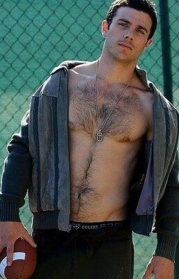 $ CDN3.64 • Buy Shirtless Male Athletic Hunk Muscular Masculine Dude Hairy Chest PHOTO 4X6 N378