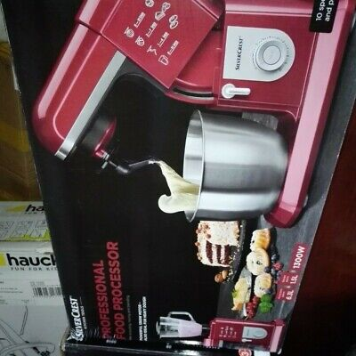 View Details PROFESSIONAL MULTI-P FOOD PROCESSOR & BLENDER (POWERFUL 1300W IN RED) RRP £650 • 389.95£