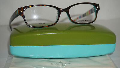 AU144.79 • Buy Kate Spade New York Frame RX Tortoise Color Pattern New LUCYANN 0X77 135