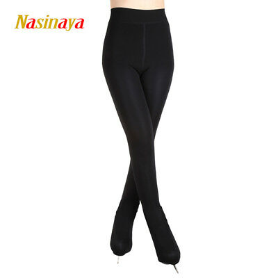 Ice Skating Pants Girls Women Figure Skating Thermal Tights Trousers Stocking • 18.26£