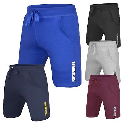 $11.99 • Buy DEFY Men's Casual Classic Fit Fleece Shorts Jogger Gym Fitness Exercise New