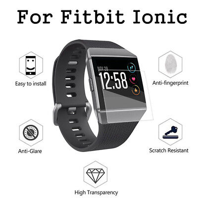 $ CDN5.04 • Buy AM_ 3x Anti-Scratch Tempered Glass Screen Protector Film For Fitbit Ionic Watch