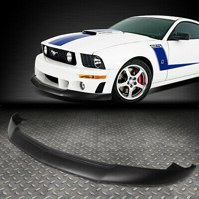 $145.88 • Buy For 2005-2009 Ford Mustang Gt Front Bumper Lip Splitter Chin Spoiler Body Kit