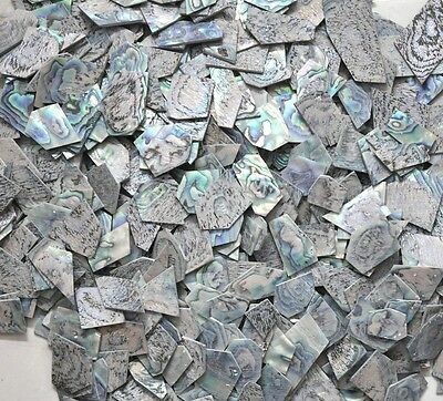 1 Oz Inlay Material Heart Abalone Shell Blanks 1.5mm Thickness • 18.21£