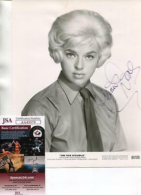 Diana Dors Autograph Actress Oliver Twist Z Cars Signed Photo JSA Authenticated • 276£
