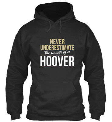 Hoover Never Underestimate A - The Power Of Standard College Hoodie • 29.99£