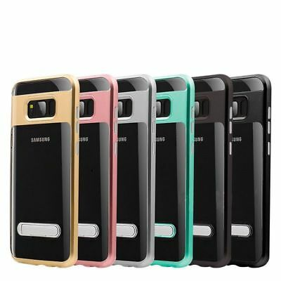 AU5.99 • Buy Clear TPU Ultra Silicone Case Cover For Samsung Galaxy S7 Edge S8 Plus Note 8