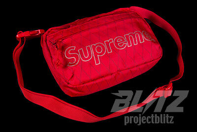 $ CDN164.32 • Buy Supreme Shoulder Bag Red Fw18 2018 White Black Purple Yellow