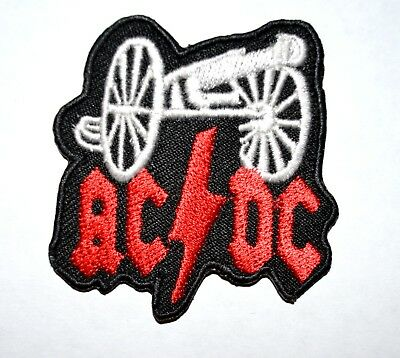 £1.99 • Buy ACDC Rock Band Iron On Or Sew On Embroidered Patch#646