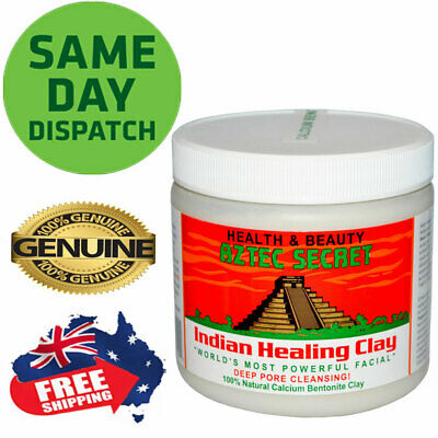 AU38.50 • Buy Aztec Secret Indian Healing Clay Facial Deep Pore Cleansing Mask 454g Genuine