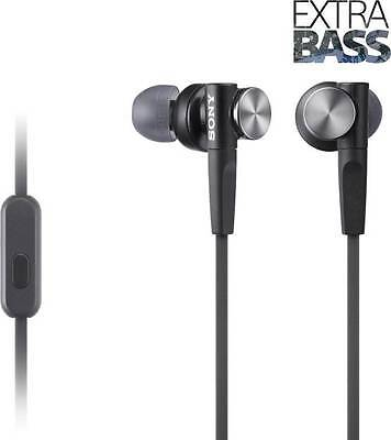 AU64.49 • Buy Sony MDR-XB55AP Black Extra Bass In-Ear Headphones Stereo MDRXB55 MIC 100% New