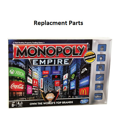 AU2.95 • Buy Monopoly Empire - Replacement Spare Parts - You Choose