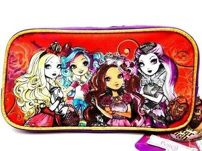 £5.66 • Buy Mattel Ever After High Pencil Case Holder Bag Pens School Carrying Pouch Purple