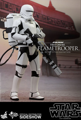 AU359.99 • Buy Star Wars Hot Toys First Order Flametrooper 1:6 Scale Action Figure MMS326
