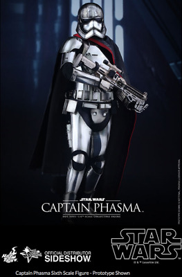 AU439.99 • Buy Star Wars Hot Toys Force Awakens Captain Phasma 1:6 Scale Figure HOTMMS328