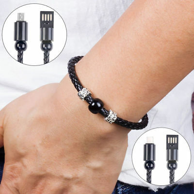 $2.31 • Buy USB Cable Bracelet Wristband Charger Charging Data Sync Cord For Cell Phone