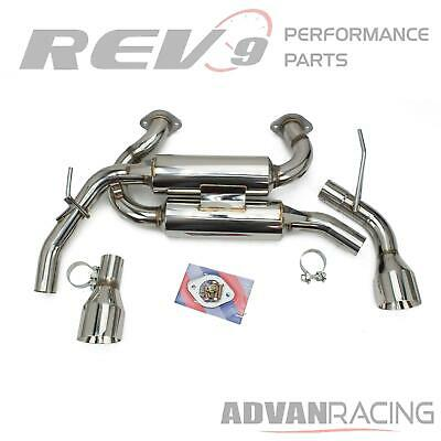 $ CDN467.06 • Buy Rev9 FlowMAXX Axle-Back Exhaust System For Q50 14-20 Stainless Steel 60mm Pipe