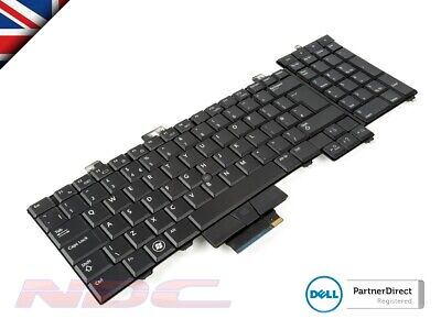 NEW Genuine Dell Precision M6400/M6500 UK ENGLISH Backlit Laptop Keyboard 0X913D • 14.99£