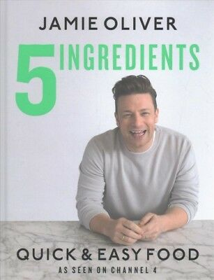 AU44.64 • Buy 5 Ingredients - Quick & Easy Food, Hardcover By Oliver, Jamie, Like New Used,...