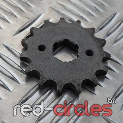 £3.99 • Buy 15 TOOTH 17mm 420 PIT BIKE FRONT SPROCKET Fits 15T 50cc 110cc 125cc PITBIKES