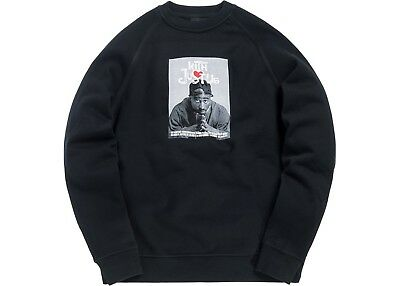 $275 • Buy Kith X Poetic Justice Crewneck - Black Size Small - In Hand!