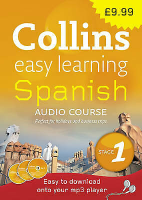 Collins Easy Learning Audio Course - Spanish: Stage 1 CD FREE Shipping, Save £s • 3.96£