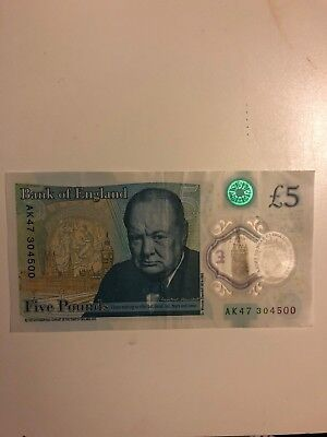 AK47 £5 Pound Note Collectible Rare • 180£